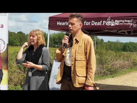 Chris Packham talks about dogs, deafness and Hearing Dogs