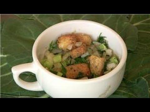 Vegetarian Cooking : Vegetarian Stuffing Recipe