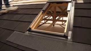 Fixing Installing Lightweight Roofing Velux Roof Window For Shingle