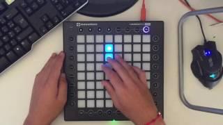 Launchpad pro: Marshmello-Alone (by Yhugo Slave)