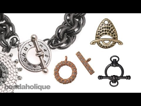 How to Use a Toggle Clasp
