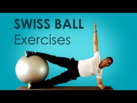 HINID: How To Build Core Strength With Swiss Ball Exercises