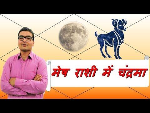 मेष राशि में चन्द्रमा (Moon In Aries) मेष राशी वाले लोग (Aries People) | Vedic Astrology | हिंदी