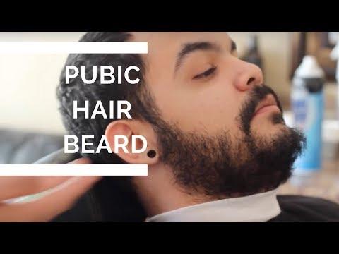 The Pubic Hair Beard !