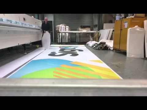 Banner printing and finishing