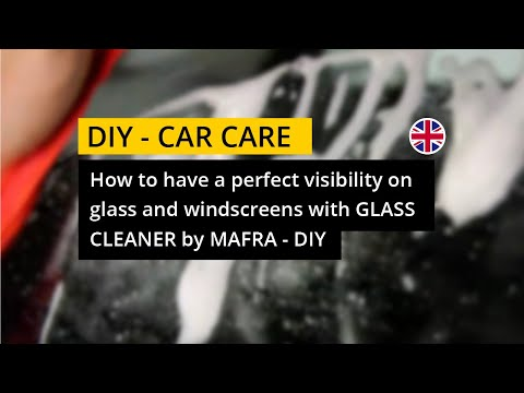 How to have a perfect visibility on glass and windscreens with Glass Cleaner