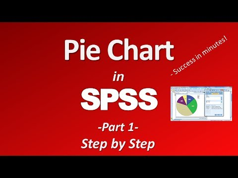 Create a Pie Chart in SPSS -  Part 1
