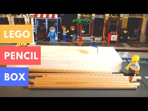 Lego Pencil Box and Lego Pencil Set Review