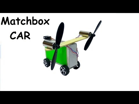 How to Make a Electric Toy Car at Home Easy - Matchbox Car - Airplane Car Toy