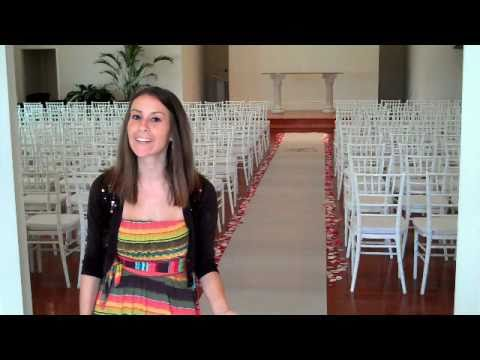Our Feature Presentation: Personalized Aisle Runners
