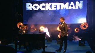 Elton John & Taron Egerton Surprise Performance - Rocketman Cannes Gala Party