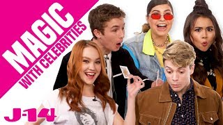 Kim Possible Cast and Jace Norman React to Magic | Magic With Celebrities