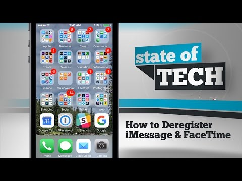 How to Deregister iMessage & FaceTime on iPhone