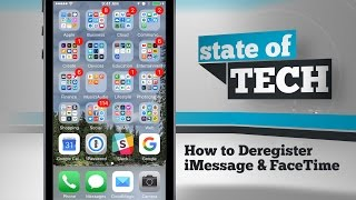 How To Deregister Imessage Facetime On Iphone
