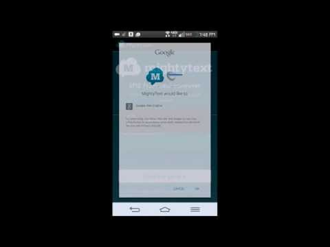 How to send & receive text messages (SMS) via Android Tablet