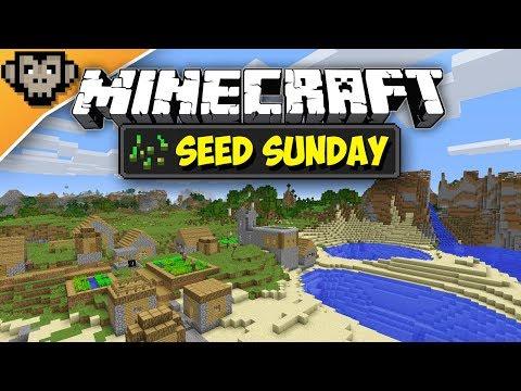 Minecraft 1.12.2 | Village With Pounds + Notch Apple | Seed Sunday - Ep256