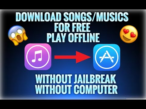 download songs/musics on iphone for free From AppStore include ios 10.3.3 (Without jailbreak or pc)