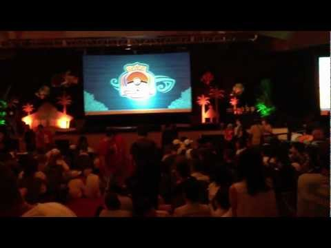 Pokemon World Championships 2012 Day 3 - Closing Ceremony Part 1