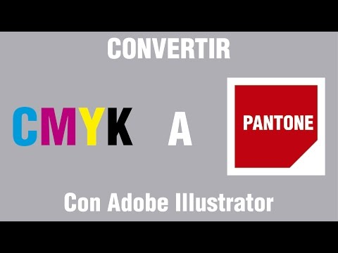 Convertir de CMYK a PANTONE - Illustrator