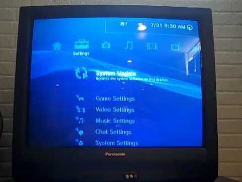 Check your Ps3s minimum downgrade firmware