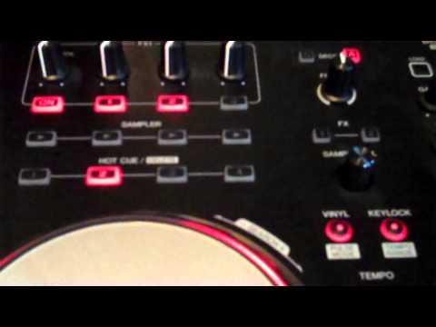 Pioneer DDJ-ERGO with Serato DJ effects.