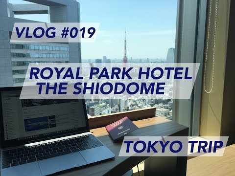 Tokyo Trip - Royal Park Hotel The Shiodome | Hotel Review | Trip Report [1080p60]