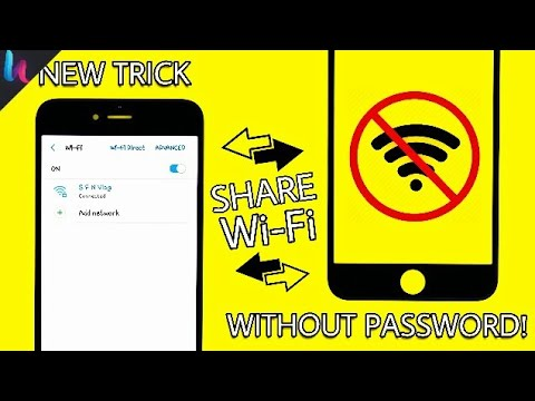 SHARE YOUR WI-FI INTERNET WITHOUT PASSWORD!! 😍
