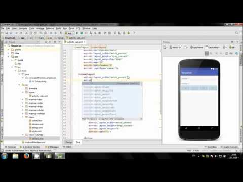 Develop simple Calculator app in Android Studio