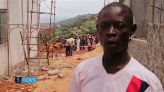 Sierra Leone mudslide survivor tells his harrowing story