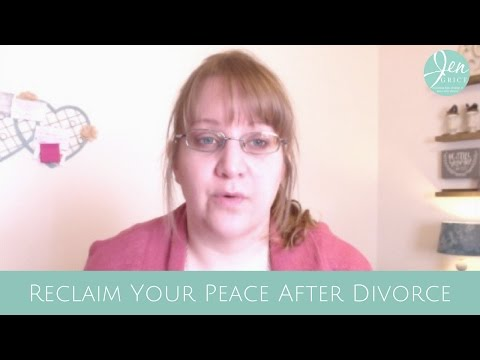 Reclaim Your PEACE | Reclaiming Life After Divorce