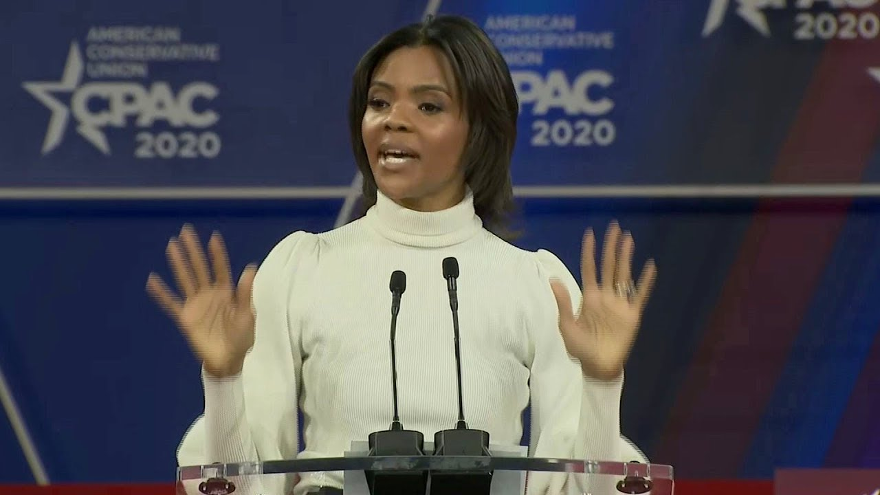 Candice Owens speaks at 2020 CPAC: full video
