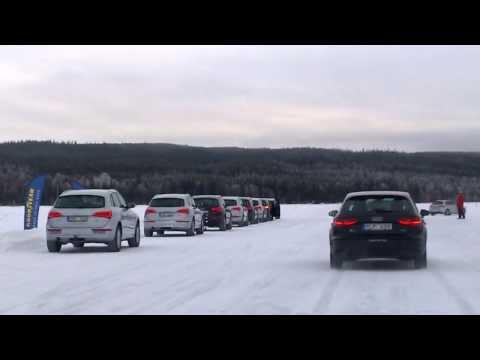 GoodYear winter tyre test @ Åre, Sweden, 2014 Feb