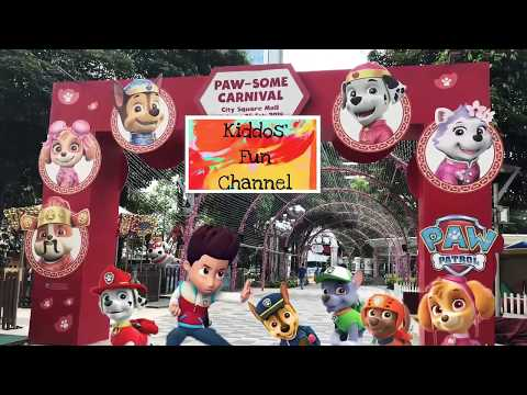 Paw Patrol Paw-some Carnival / Limited Edition Paw Patrol / City Square Mall