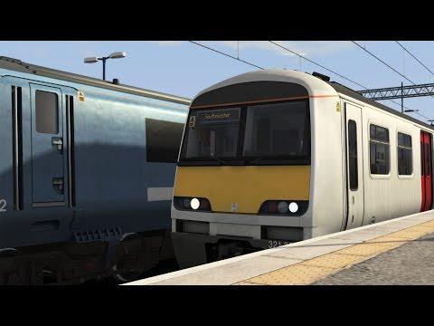 Train simulator 2018: class 321 London Liverpool Street-Southminster