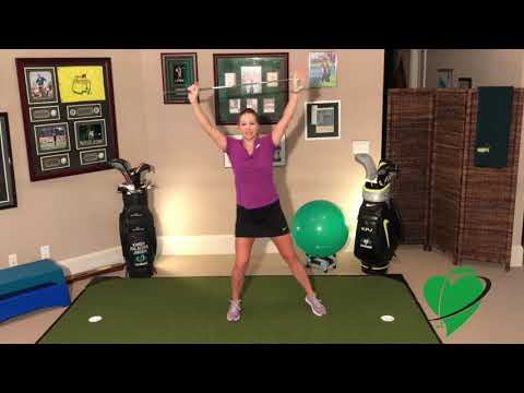 Improve Your Golf Swing and Lower Your Score with Cardiogolf Exercise-Pivot Drill Warm Up