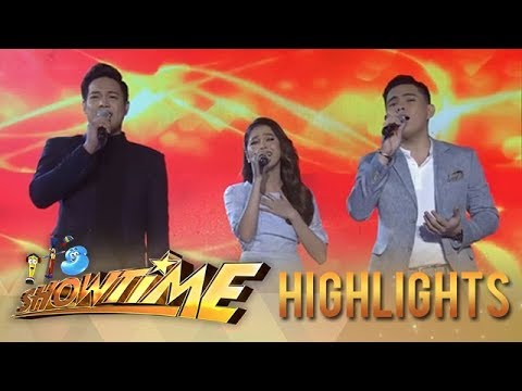 It's Showtime: Reggie, Anton and Marielle and their world class performance