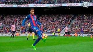 Neymar vs Athletic Bilbao (Home) HD 720p (04/02/2017)