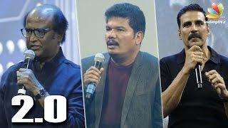 Akshay Kumar is not the villain in 2.0 : Rajini Speech    Shankar's Robo First Look Launch