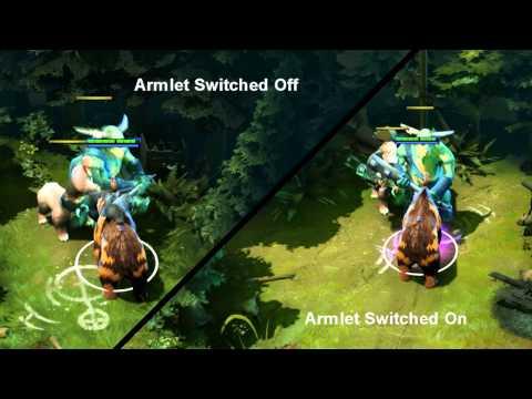 Dota 2 Tips and Tricks #2 - Armlet of Mordiggian on Spirit Bear