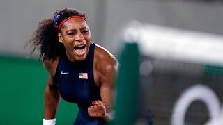 Serena Williams Top 50 Amazing Points