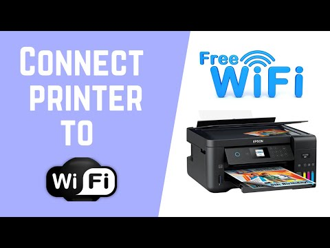 How to connect your EPSON printer to wifi?