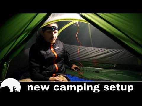 solo overnight camping - terra hiker gear test & review