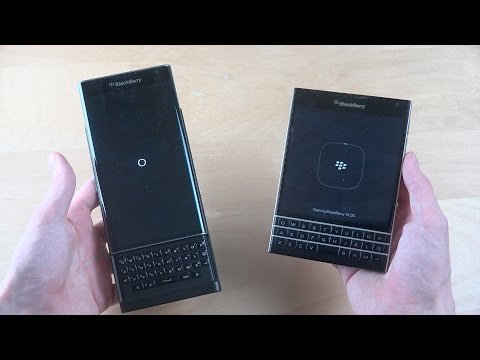 BlackBerry Priv Android vs. BlackBerry Passport - Which Is Faster?