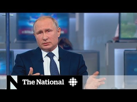 Putin sympathizes with Canada in annual call-in show
