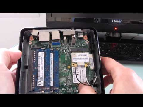 Opening the Asus Chromebox to upgrade RAM, storage