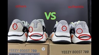 a27d0659c YEEZY 700 Wave Runner Authentic VS Fake Comparison and review