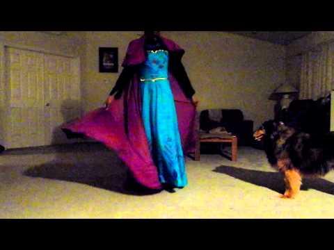 Elsa's Coronation Dress c: ft. Max