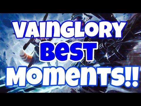 Vainglory - Best moments!! (Montage)