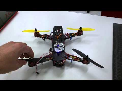 Acro Naze32 Quad Copter Overview