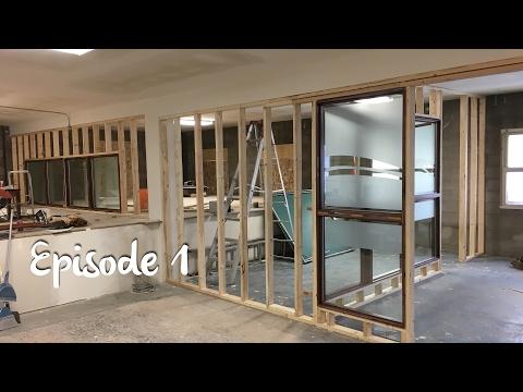 Building Maker House Episode1: Framing, Drywall and Primer